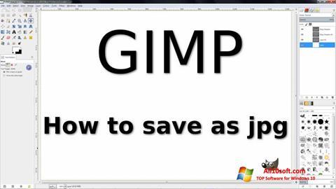 Screenshot GIMP untuk Windows 10
