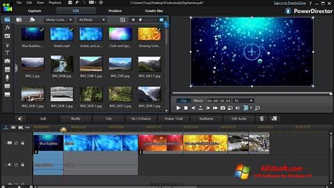 Screenshot CyberLink PowerDirector untuk Windows 10