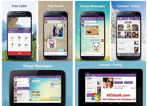 Screenshot Viber untuk Windows 10