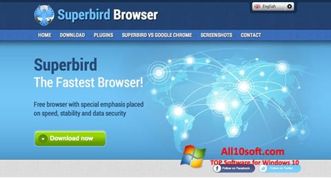 Screenshot Superbird untuk Windows 10