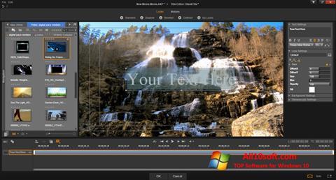 Screenshot Pinnacle Studio untuk Windows 10